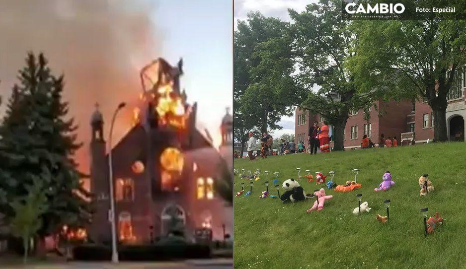 Hallazgos de restos de niñitos indígenas desata ola de incendios en iglesias de Canadá