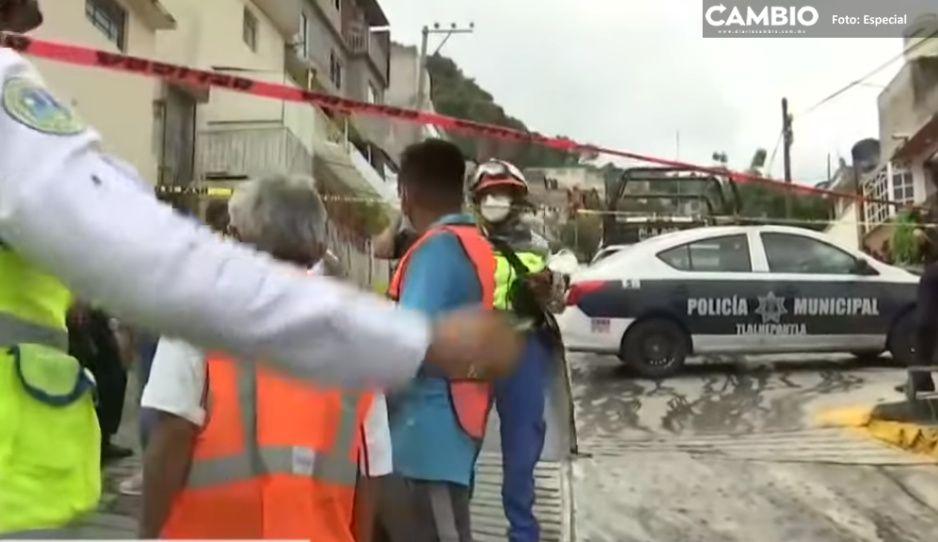 Paran labores de rescate de desaparecidos tras derrumbe de cerro Chiquihuite, denuncian familiares