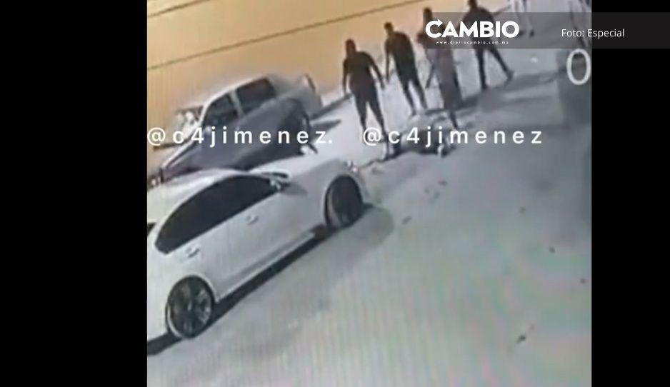 ¡Y todo por un estacionamiento! Asesinan a machetazos a abuelito en Ecatepec (VIDEO)