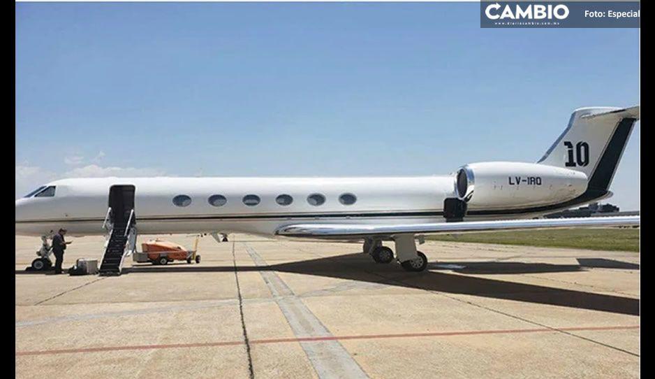 FOTOS: Conoce el lujoso avión de Messi; el presidente de Argentina lo rentó para volar a México