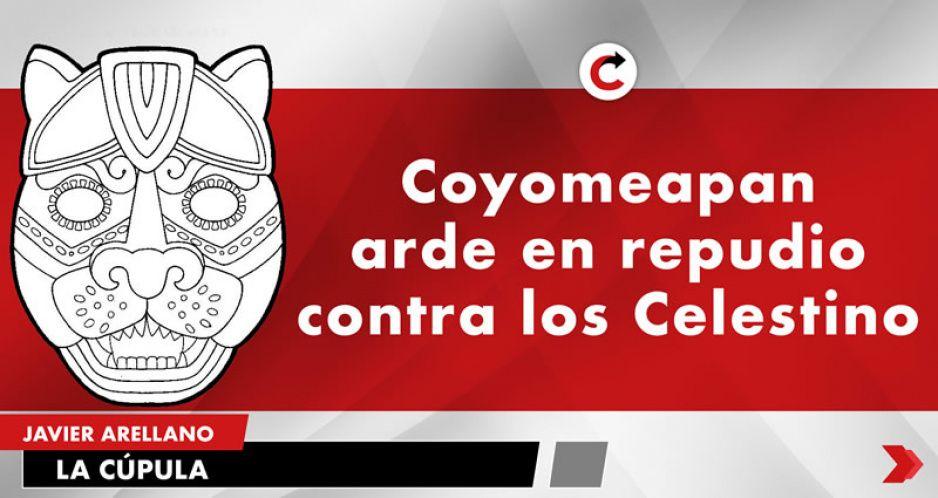 Coyomeapan arde en repudio contra los Celestino