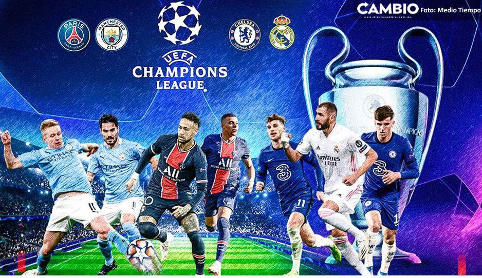 ¿Ganará el Madrid la Champions League? Así quedaron las semifinales