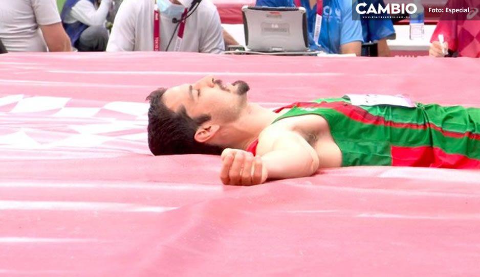 Así fue la triste eliminatoria de Edgar Rivera en salto de altura #Tokio2020 (FOTO)