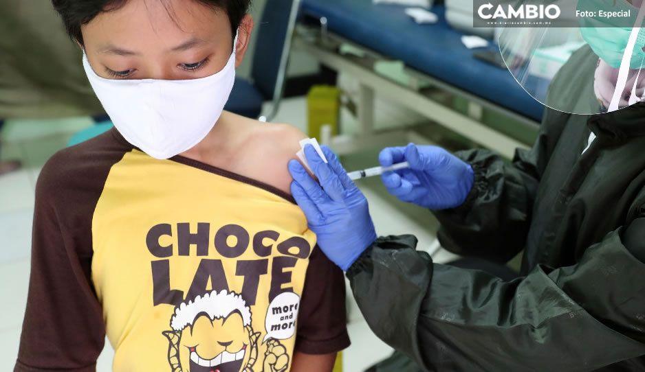 SSA habilita registro de vacuna COVID para menores de edad con comorbilidades