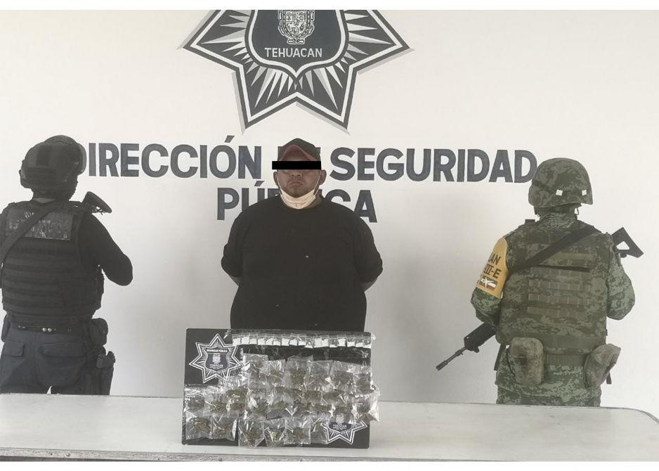 """Cae narcomenudista de la banda """"Del Rueda"""" en Tehuacán"""