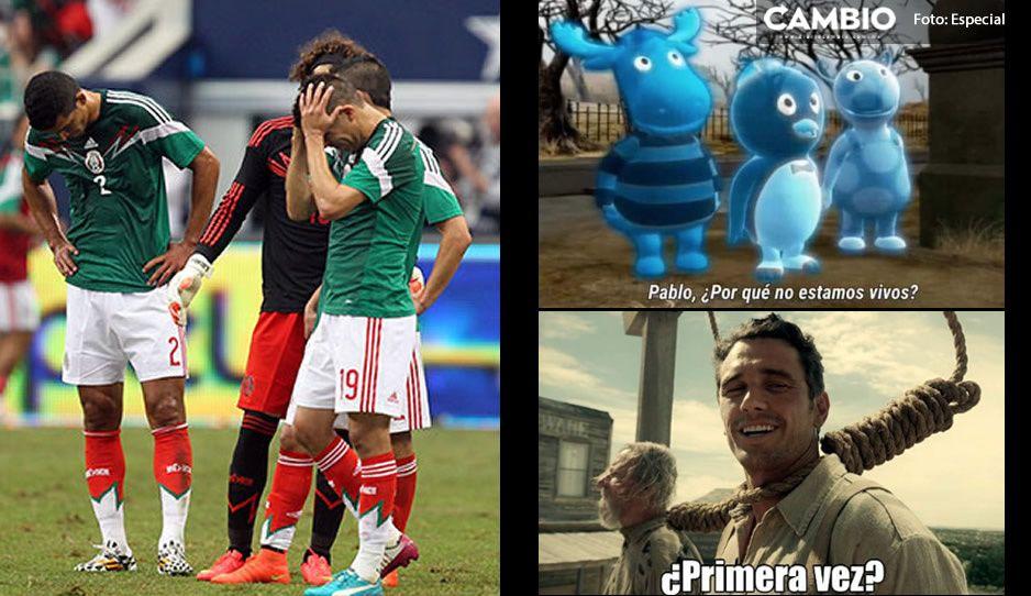 México cae ante Brasil y aficionados llenan de dolorosos MEMES las redes