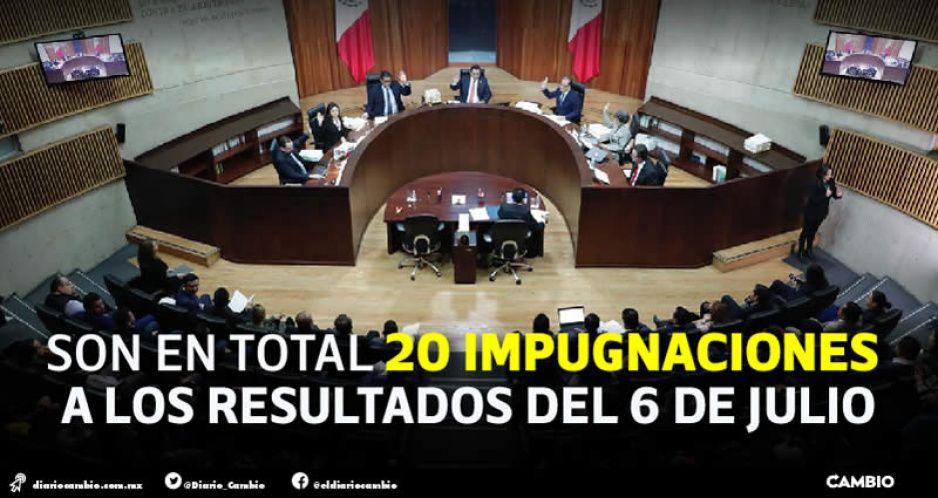 Resolverá TEPJF últimos municipios, incluidos Ciudad Serdán, Texmelucan y Zacatlán