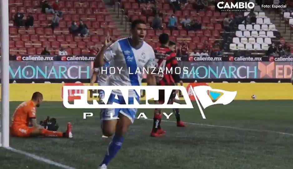 ¡Atención camoteros! Club Puebla lanza plataforma Franja Play; ofrece videos exclusivos
