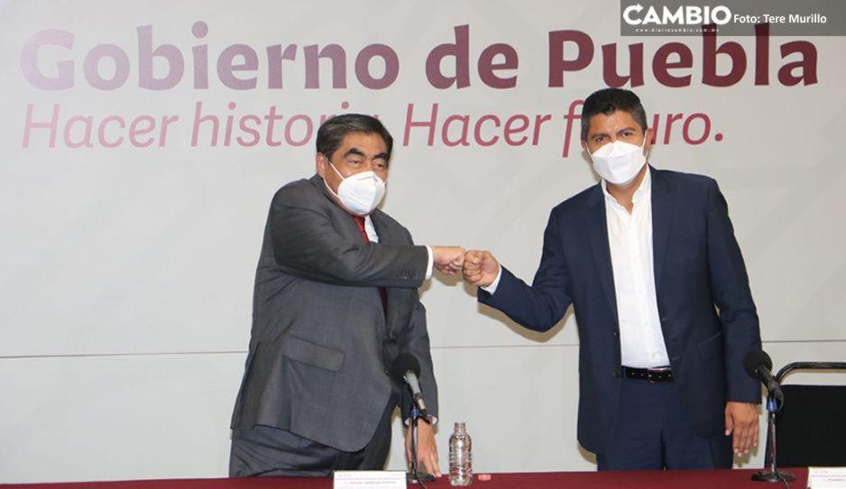Así fue la primera reunión de Barbosa con Lalo Rivera: se comprometen a trabajar por Puebla capital (VIDEO)