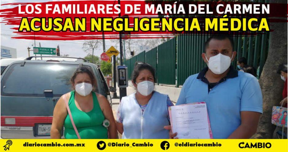 Mujer acude al IMSS de Tehuacán para dar a luz, pero terminó intubada y con daño cerebral