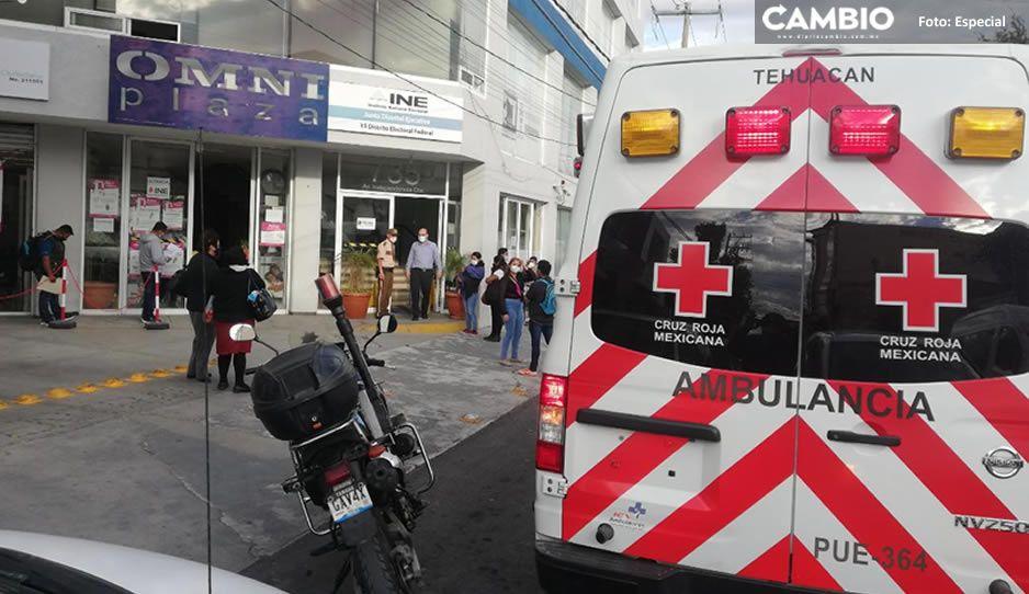 Empleado del INE muere al interior de las oficinas en Tehuacán