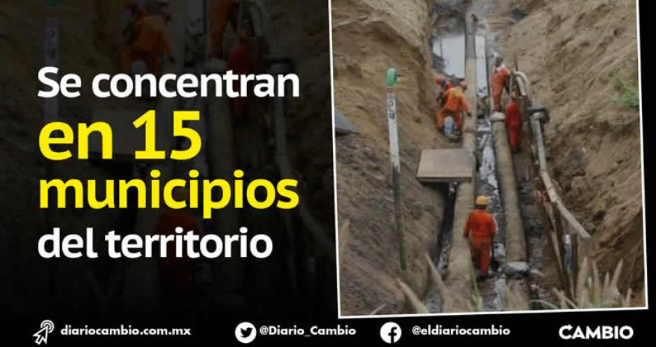 Puebla es segundo lugar en huachicol durante 2021: lleva 973 perforaciones