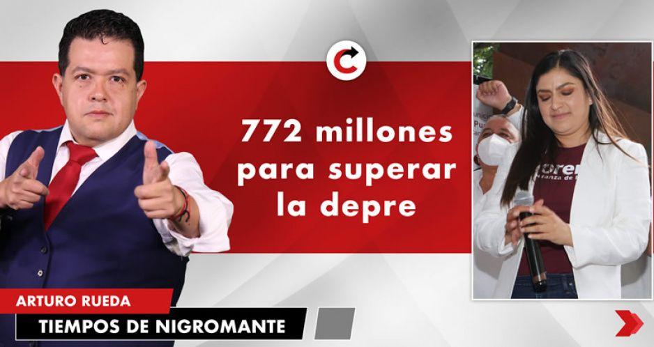 772 millones para superar la depre
