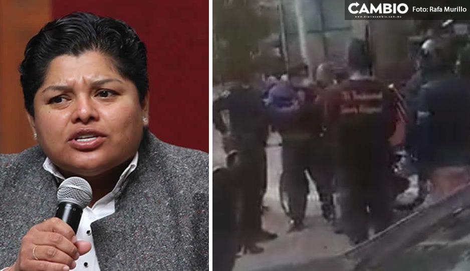 Karina Pérez desmiente abuso de autoridad vs repartidores en Sonata