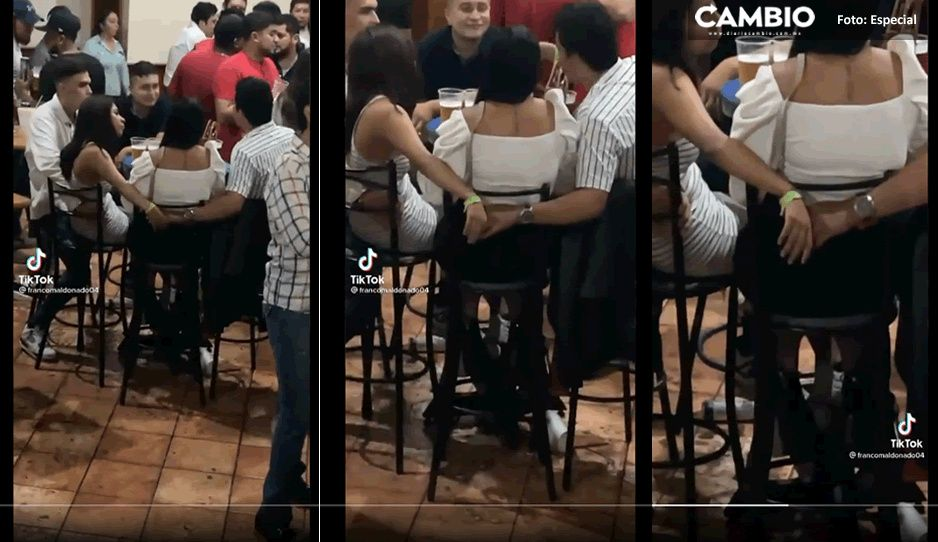Pareja de infieles es captada en video en TikTok y se hace viral