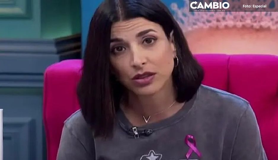 Esta vez me tocó a mi: Verónica Toussaint revela que le detectaron cáncer de mama