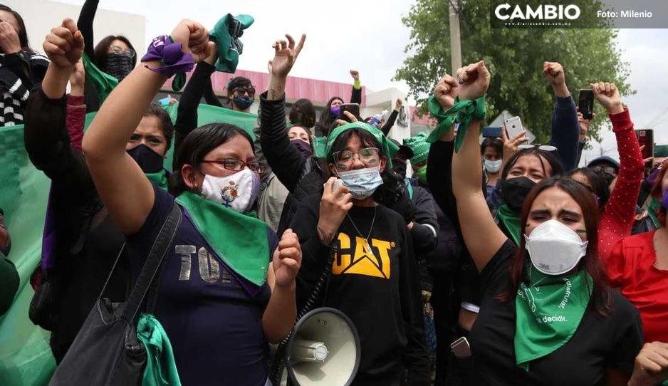 ¡Día histórico en México! Despenalizan el aborto en Hidalgo