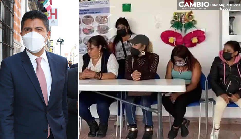 Sexoservidoras piden acercamiento con Lalo Rivera para obtener mejor trato