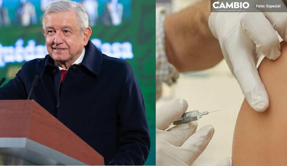 A todo el territorio nacional han llegado las vacunas antiCovid: AMLO