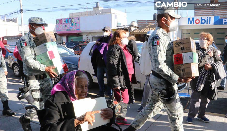 Puebla ha recibido 625 mil vacunas, el sexto estado con más a nivel nacional