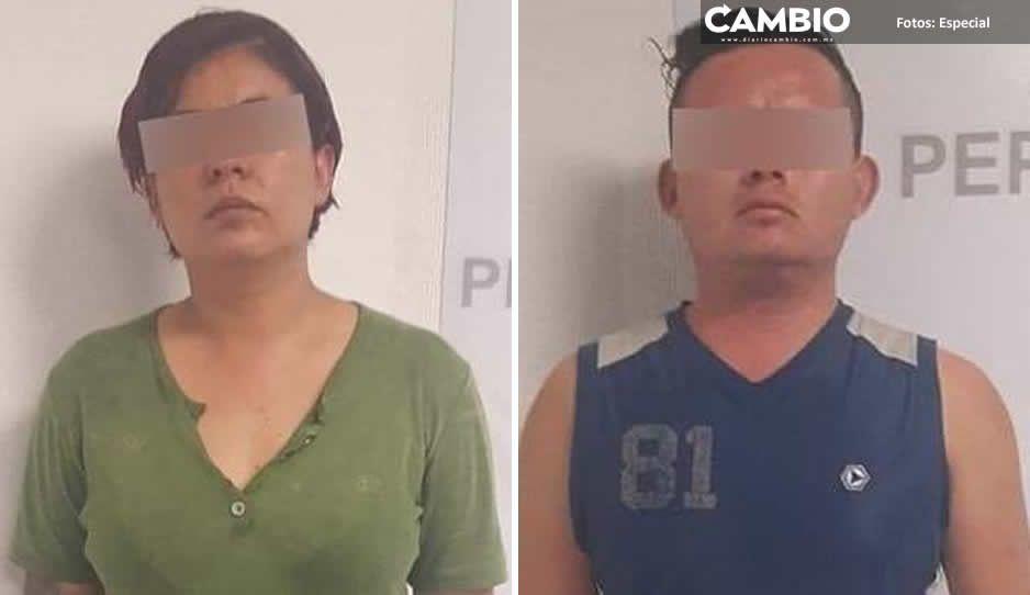 Polis soplones de Tehuacán fueron detenidos en horario laboral y a bordo de una patrulla