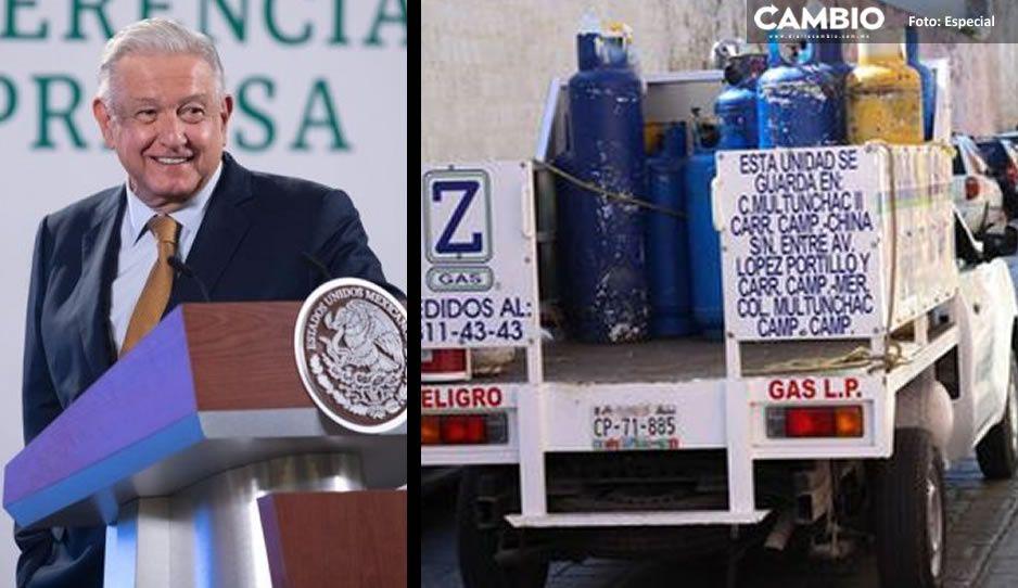 AMLO anuncia distribución de gas LP en Valle de México ¡arranca en septiembre!