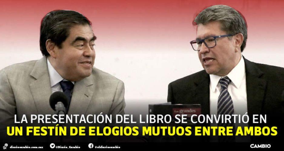 Monreal arranca campaña rumbo al 2024 de la mano de Miguel Barbosa (FOTOS Y VIDEO)