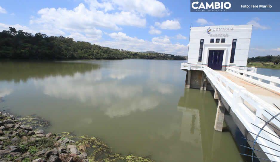 Gobernación estatal levanta alerta de riesgo sobre la presa de Valsequillo (FOTOS)