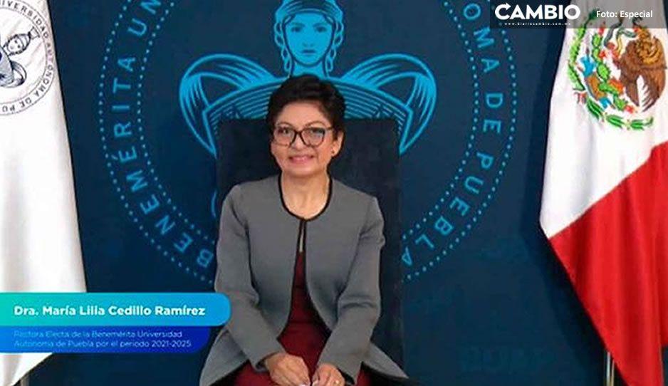 Estas son las primeras acciones que hará Lilia Cedilllo como nueva rectora: renovará el CU
