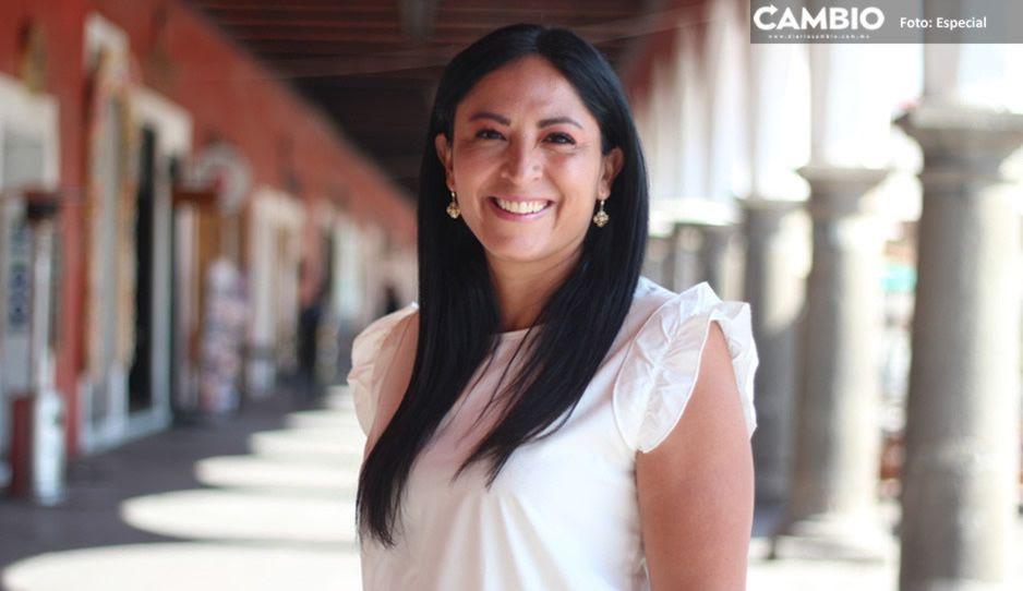 Ana Cristina Ruiz de Compromiso por Puebla inicia su campaña rumbo a la alcaldía de San Pedro Cholula