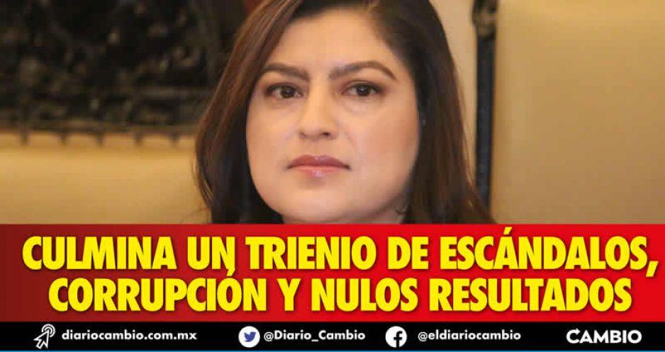 Se acaba el gobierno de Claudia Rivera: inmemorial de tres años (FOTOS Y VIDEOS)