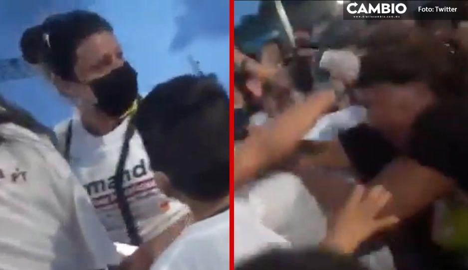 Riña en cierre de campaña de Morena; mujeres se deschongan en concierto de Julión Álvarez (VIDEO)