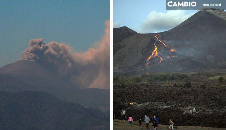 VIDEO: Así fue la impresionante erupción del volcán La Soufriere, columnas de ceniza de 8 kilómetros