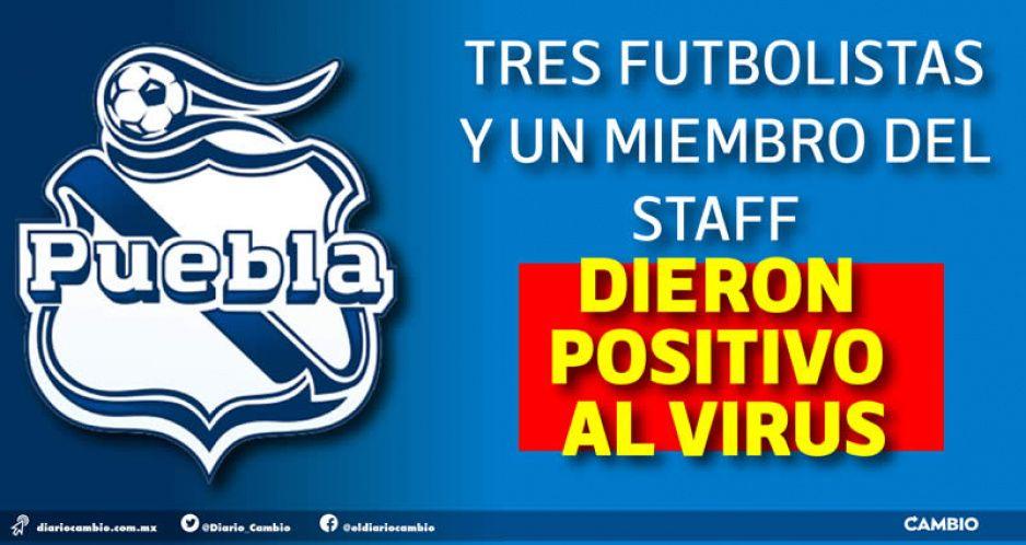 Contagiadero de COVID frena pretemporada del Club Puebla