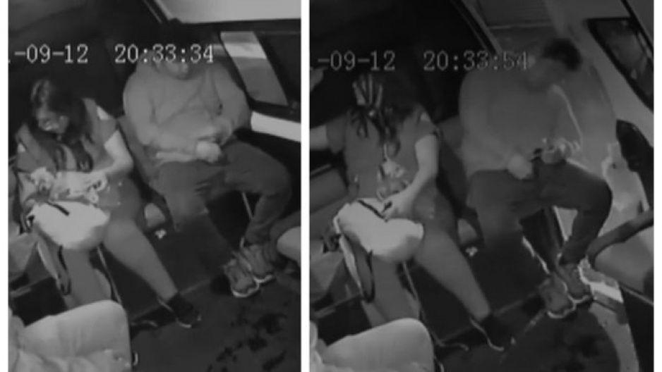 Historias en la combi: pasajero se queda dormido y se mete el golpazo de su vida (VIDEO)