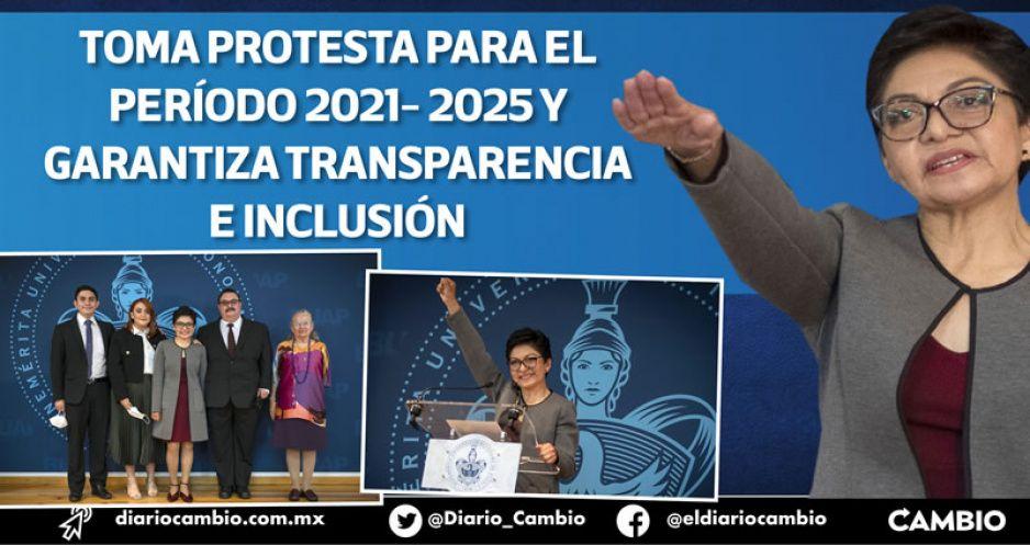 Una BUAP austera y transparente, el compromiso de Cedillo al tomar protesta (FOTOS Y VIDEOS)