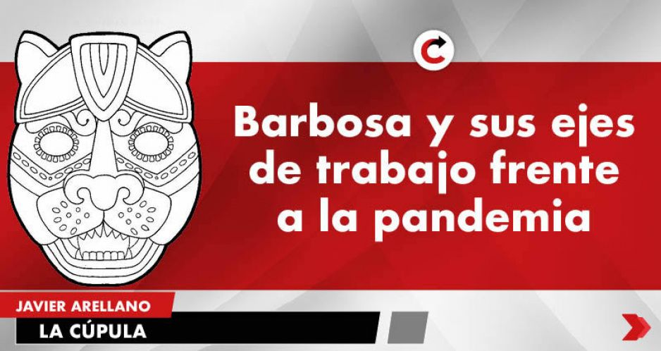 Barbosa y sus ejes de trabajo frente a la pandemia.