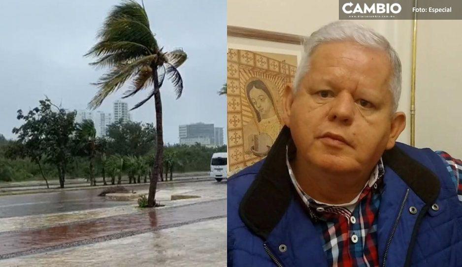 Tensa calma en Teziutlán previo a la llegada de 'Grace': Carlos Peredo