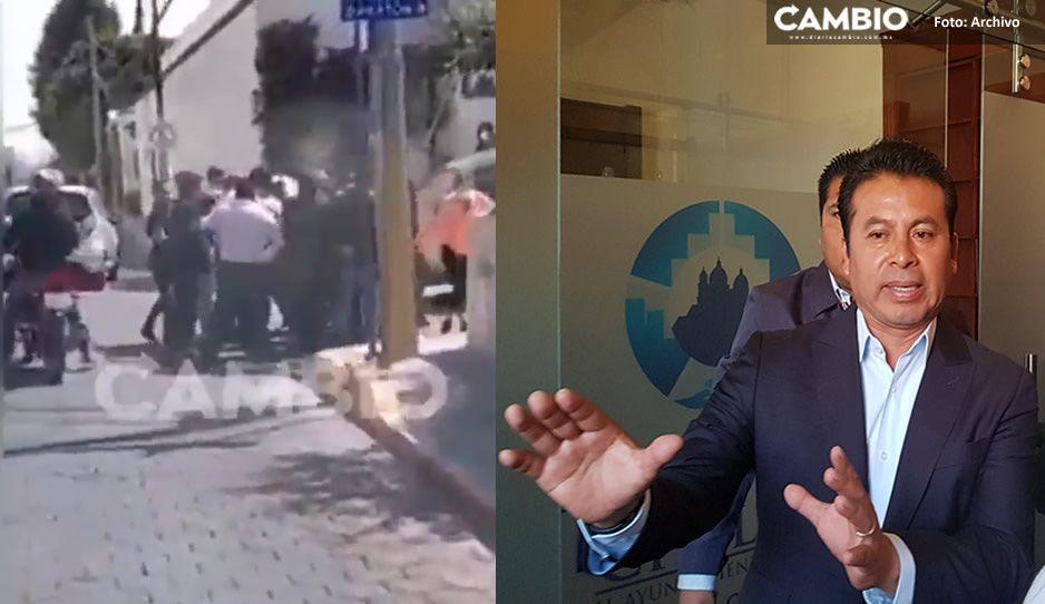 Este es el momento exacto cuando detuvieron a Paisano en el velorio de su papá (VIDEO)