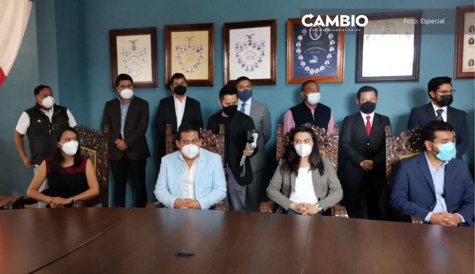 Presentan a los equipos de transición de Memo Velázquez y Ariadna Ayala