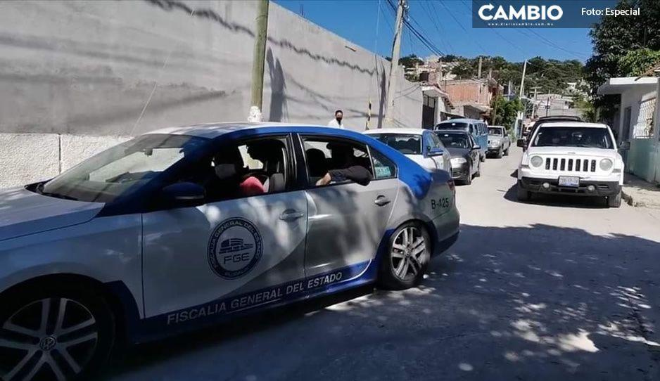 Con drogas y dos autos con reporte de robo, detienen a 'La Colombiana' y 'El Oso' en Izúcar