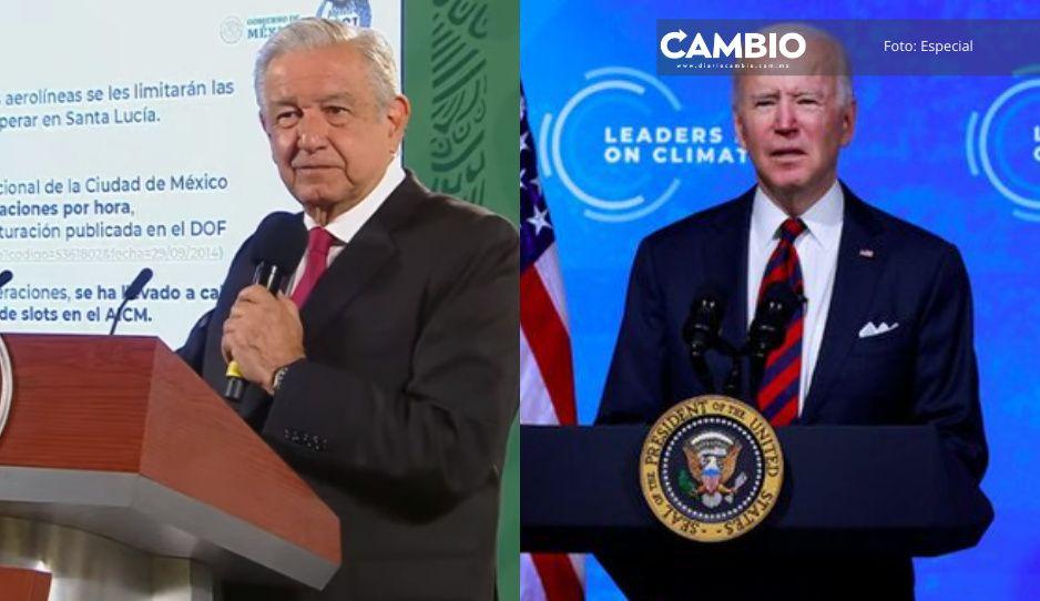 Tras críticas por relación con Cuba, AMLO y Biden se reunieron hoy por Cumbre Climática