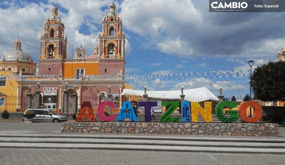 """Fuertes lluvias en Acatzingo dejan sin mercancía a locatarios del Mercado """"Del Sol"""""""