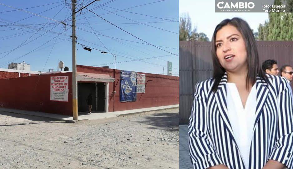 Claudia viola convocatoria de Morena; organiza acto proselitista en la inspectoría Guadalupe Hidalgo (VIDEO)