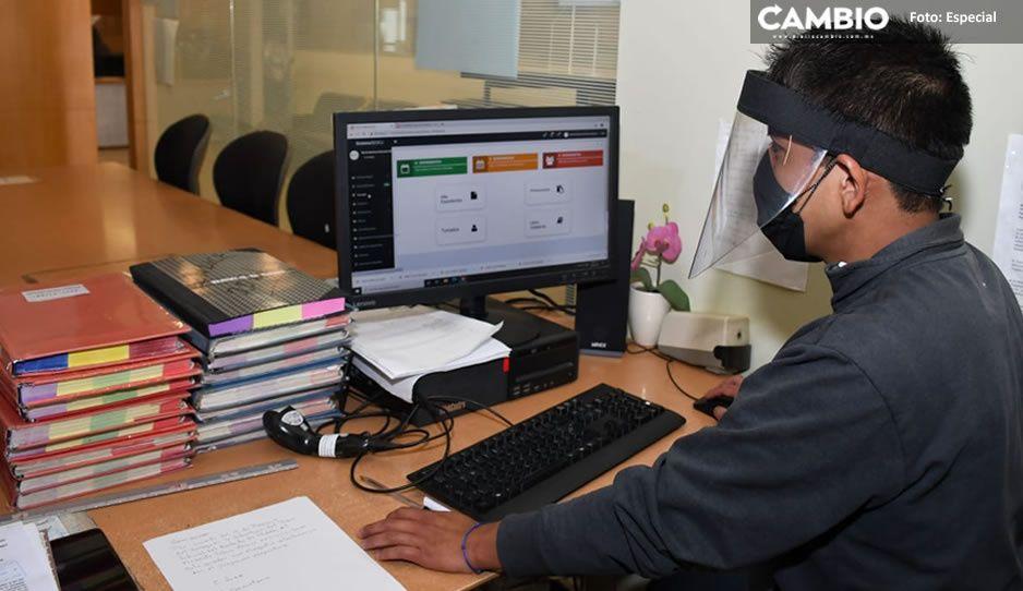 Poder Judicial de Puebla inicia implementación de libros electrónicos en juzgados