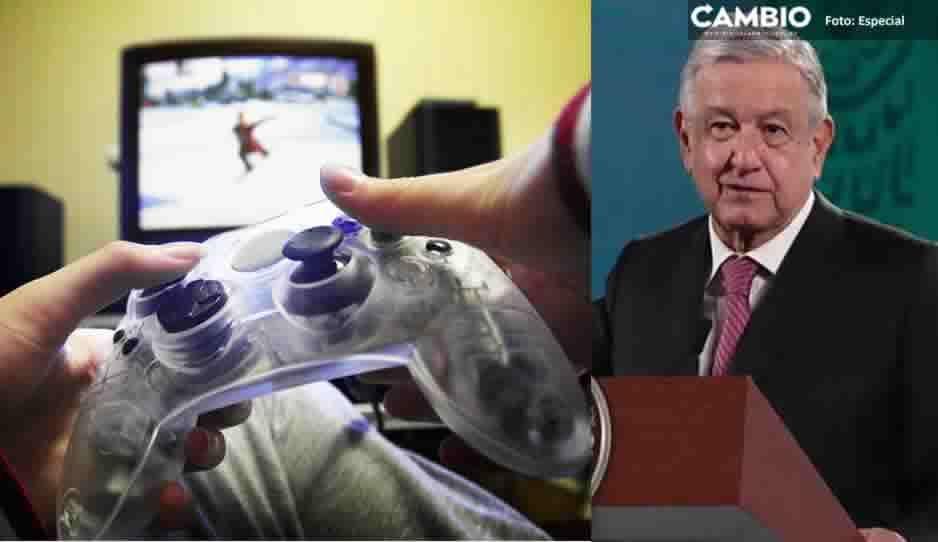AMLO insiste en el regreso a las aulas: niños se han vuelto adictos a videojuegos
