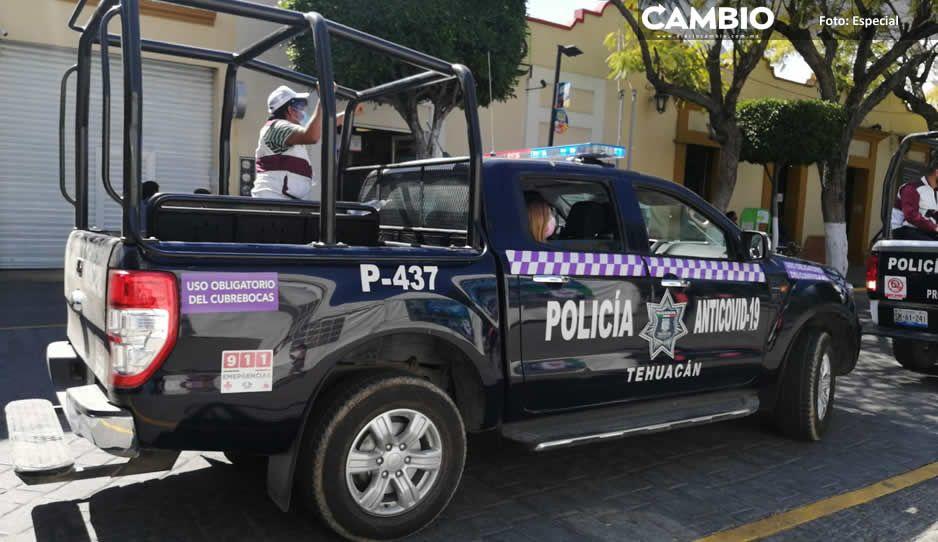 Extienden hasta el 15 de octubre el uso obligatorio de cubrebocas y Patrulla antiCOVID en Tehuacán