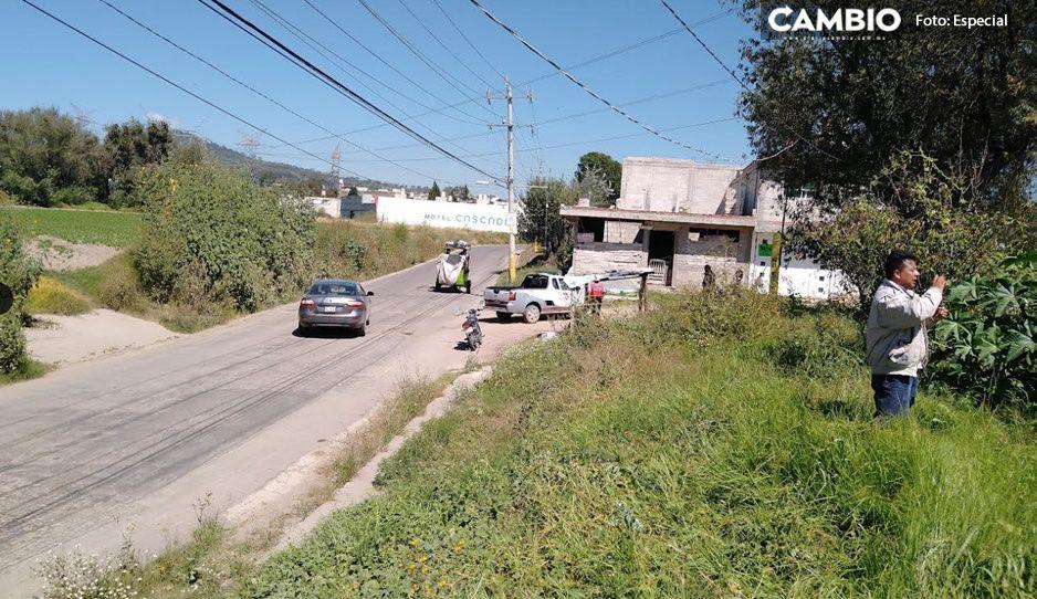 Desalojan a 12 familias para dar mantenimiento a ductos de gas en Texmelucan