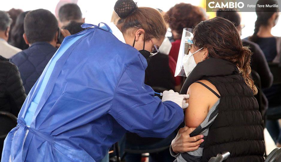 Rezagados de la zona conurbada también podrán vacunarse en la próxima jornada