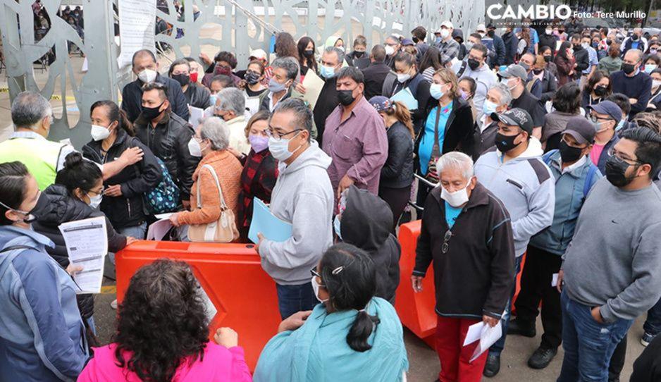 Falta de documentación y gandallas de la capital provocaron largas filas en la zona conurbada: SSA